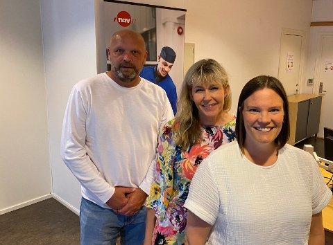 Knut Skaret, Laila Dybendal og Julia Heiberg har tro på et sterkere samarbeid. Med et samarbeid kan det bli mulighet for å spisse kompetanse, i stedet for at alle kan litt om alt.