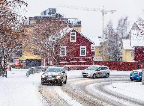 Vi kan forvente mer snøvær på Lillehammer denne uken.