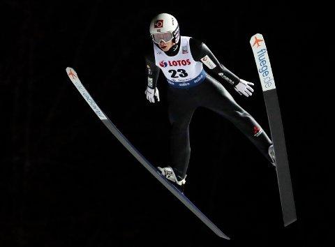 BEST: Halvor Granerud ble beste nordmann med en 4.-plass i Wisla søndag Foto: Czarek Sokolowski / NTB