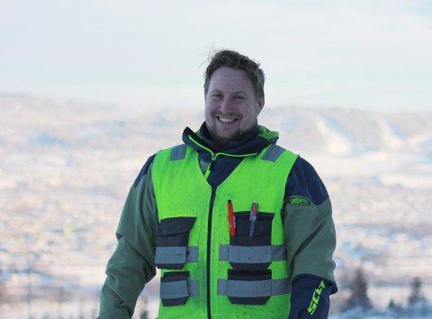 """Terje Tamburstuen har løftet sitt selskap opp de siste årene, og er en av ti """"Gaselle-bedrifter"""" på Lillehammer."""