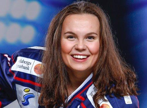 HOCKEYPROFF: Nora Christophersen (17) spiller til vanlig i svenske Linköping.