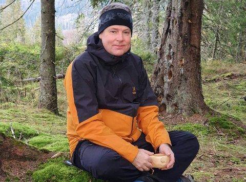 ADMINISTRATOR: Kjetil Rønneberg forteller at facebook-gruppa for omkjøring over Skjerva fungerer godt så lenge den brukes til det den er ment å brukes til, en informasjonskanal.