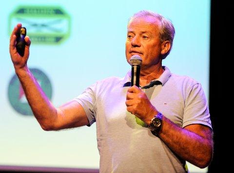ENGASJERT: Per Bergerud, verdensmester i storbakken i Seefeld i 1985, er nå daglig leder for O-VM 2019.