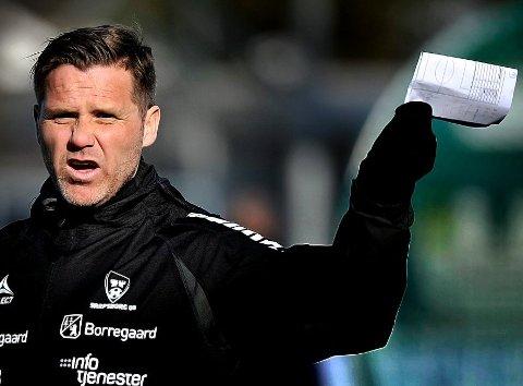 FERDIG i SARPSBORG: Etter seks sesonger er Tom Freddy Aune ferdig som assistenttrener i Sarpsborg 08.