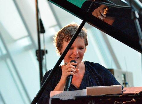 Tilbake til hardanger: Ingrid Bjørnov i Hardangerhallen under Hardanger Musikkfest i 2014. Arkivfoto: Svein knutsen