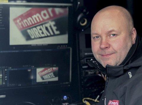 PRODUSENT: iFinnmarks redaktør Stian Eliassen skal være med på hele turneen som produsent.