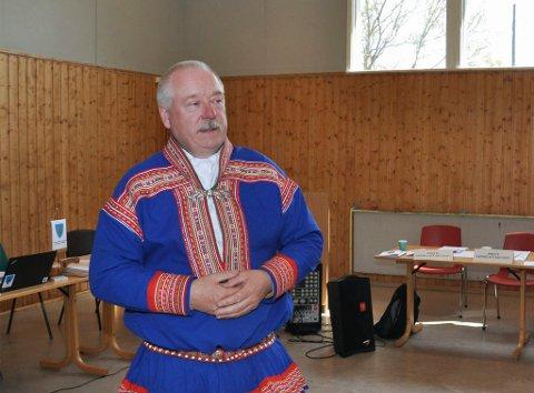TJENTE MINST I 2019: Kautokeino-ordfører Hans Isak Olsen var den ordføreren i Finnmark som hadde minst inntekt i 2019 i region i følge årets skattelister.