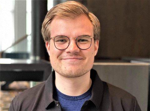 PÅ TOPP: Vetle Langedahl er første navn på nominasjonslisten.