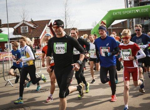 Populært: Halvmaraton er fulltegnet, og flere vil kjøpe seg plass.foto: Pål Norby