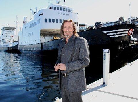 Lars Slettebø vil ha Stord inn i «oljefylket Rogaland». Foto: Kari Stautland.