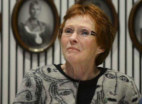 TOG: Kari Anne Sand (Sp)  vil fortsatt snakke tog med Buskerudbyen.