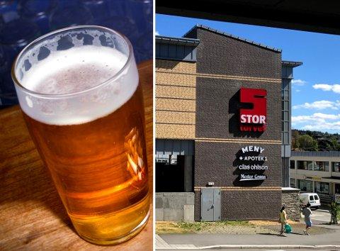 SELGER LITE: Kafeen på Stortorvet selger så lite alkohol at de har valgt å si opp skjenkebevillingen.