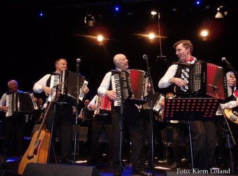 AVLYST: Konserten med Lindesnes trekkspillklubb blir avlyst onsdagskveld.