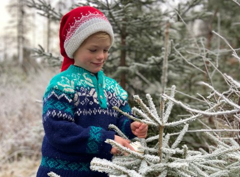 UT PÅ TUR: Uteaktiviteter sammen med barna er et fint alternativ i jula, når skjermtid og inneaktivitet er dominerende.