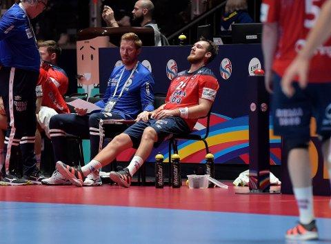 SLAGEN: Christian O'Sullivan var skuffet etter semifinalen.