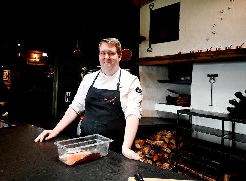 Sindre Kristiansen Rusten fra Sel bestemte seg tidlig for å bli kokk.
