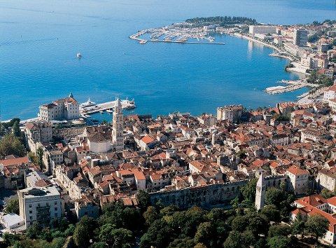 NY VINNER: Split i Kroatia gjør comeback som direktedestinasjon fra Tromsø neste sommer. Og pågangen er stor, sier reisebyråene.