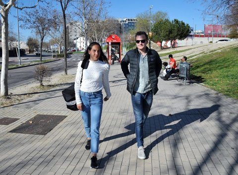 Ingrid Moe Wold har satt sitt preg på CFF Madrid og er glad hun fulgte samboer Fredrik Nordlien Bergs råd om å prøve seg i La Liga.
