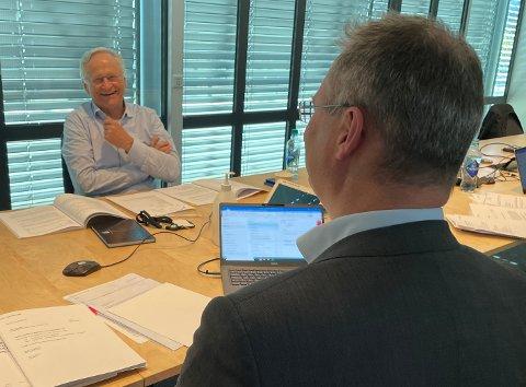 MINSTE MARGIN: Styreleder Svein Gjedrem brukte sin dobbeltstemme for av avgjøre sykehussaken - i denne omgang.