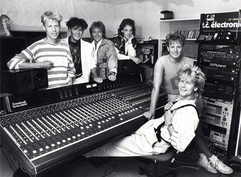 """POP/ROCKMUSIKK. En av LARVIKs mest kjente popgrupper i løpet av 1980-90-tallet: """"Drama"""""""