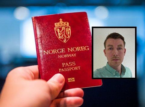 KØ: Simen Melhus Sjølli er en av dem som fortviler over lang ventetid for å få pass.