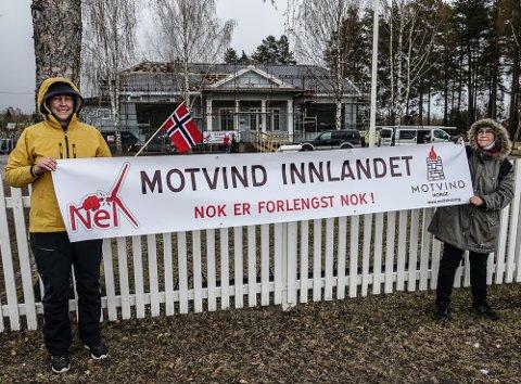 BLE IKKE HØRT: Motvind Norge fikk ikke medhold i sin klage, noe heller ikke La Naturen leve fikk.