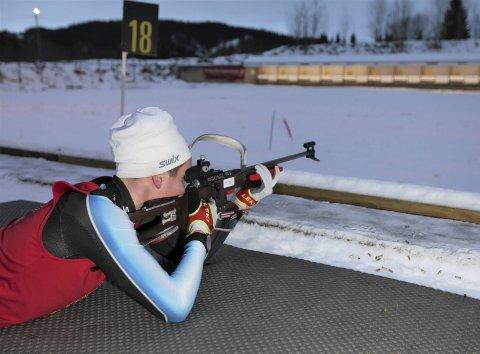 Skonseng ULs Kasper Kalkenberg mister trolig begge de største rennene i vinter. Skiskytteren får verken gå Hovedlandsrennet eller kretsmesterskapet, som skulle gått kommende helg, på grunn av koronaen. Foto: Rune Kristian Ellingsen
