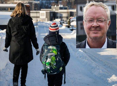 KRITISK: Dette virker ikke å være glitrende håndverk, verken politisk eller administrativt, skriver Terje Andersen om de nye skolegrensene i Hønefoss.
