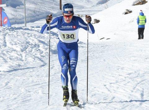 AMATØRTABBE: Emil Sørgård tok feil løype og gikk 2 kilometer for langt på Svene.