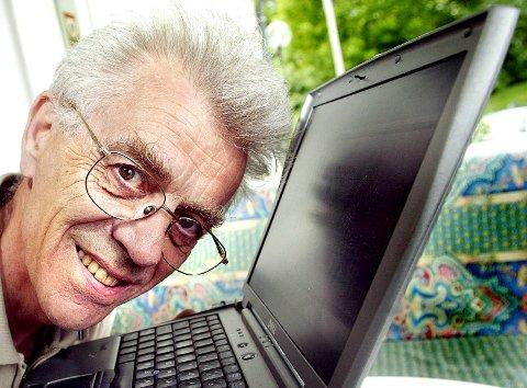 INTERNETT-GRÜNDEREN: Professor Pål Spilling fra Gjerdrum var fødselshjelper for internett i Norge. Han døde natt til 16. januar, 83 år gammel.