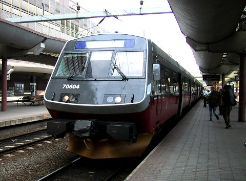 Intercity-satsingen med dobbeltspor og kortere reisetid mellom byene på det sentrale Østlandet må skyves flere år fram i tid, mener Bane Nor i et dokument som blir lagt fram mandag. Foto: Vidar Knai / NTB scanpix