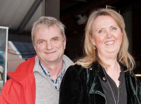 Nestleder Vidar Mikalsen og leder Marianne Riis Rasmussen i nye Asker Arbeiderparti.