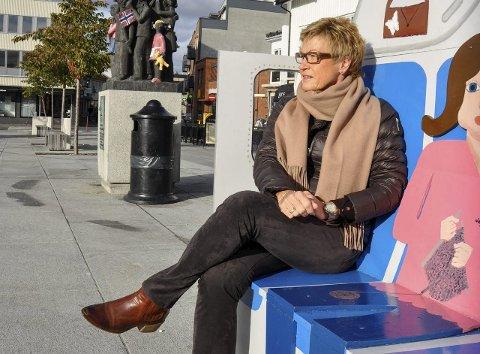 – VIKTIG MED EN REN BY: Daglig leder Elisabeth Teien i Sandefjord Byen Vår. FOTO: BJØRN TORE BRØSKE