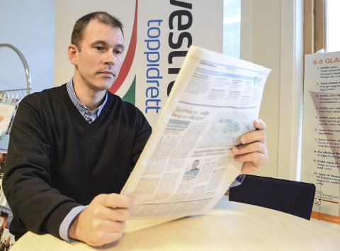 Reagerer: Kjetil Olsen i Arbeiderpartiet i Sandefjord liker dårlig utspillet fra Høyre-politiker Thomas Mørk Olsen om at han holder folk for narr. Arkivfoto: Flemmin Hofmann Tveitan