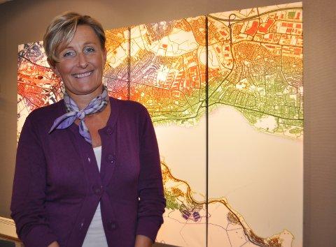 LAV LEDIGHET: Ågot Elise Vatnedal, avdelingsdirektør i NAV Sandnes, mener 783 arbeidsledige er et lavt tall i en stor kommune som Sandnes.