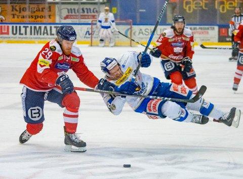 Endelig klart: Endelig er det klart hvor mange lag det blir i årets eliteserie i hockey for Spartas Niklas Roest og resten av eliteseriespillerne.