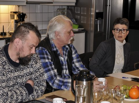 LANGSIKTIGHET: Anne Mette Gangsøy (t.h) var opptatt av langsiktig styrking av tilbudet innen psykiatri og rus. Her sammen med Kjetil Grotbæk Moen (H) (t.v.) og Einar Iversen (Frp).
