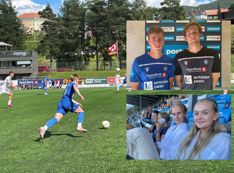 KAMPDAG: Søndag ettermiddag spilte NFK mot serieleder Arendal på hjemmebane. Flere gode sjanser, et mål og gode redninger fra keeper. Flere hadde tatt turen for å støtte lokallaget.