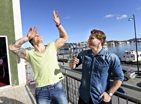Trener Eren Gjægtvik har hatt besøk av Felix Baldauf i påsken. Duoen har nå lagt en plan hvor målet er å delta i sommer-OL neste år.