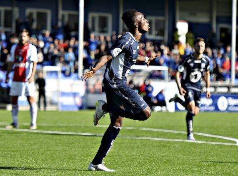 Daouda Bamba scoret for KBK 2 mandag.