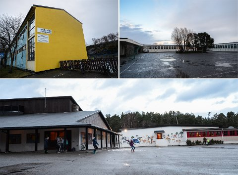 Barneskolene Dalabrekka, Gomalandet, Rensvik og Bjerkelund skal erstattes med nye skoler.