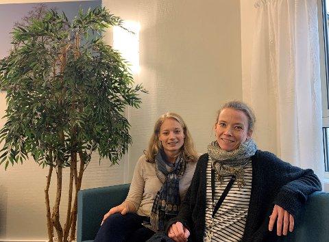 BEHANDLING: Psykologspesialist Kirsti Hermansen og overlege Taran Buran Nærdal jobber begge ved BUPA i Vestfold, de hjelper ungdom som blant annet sliter med selvskading gjennom DBT-behandling.