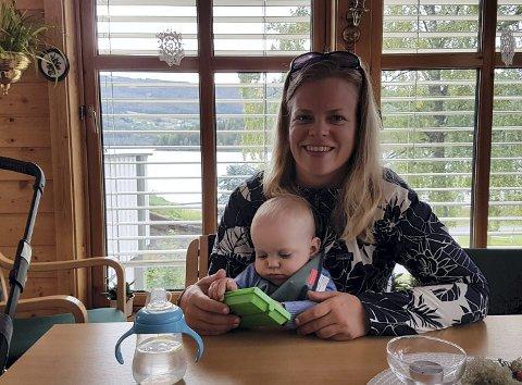 Viktig møteplass: Ingrid Bergstrøm er glad for at hun begynte på babytreff. Her har hun og familien fått gode venner.
