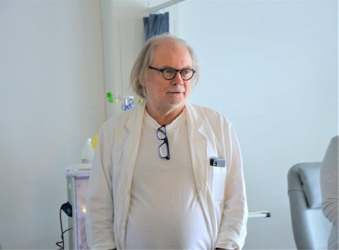 Kommuneoverlege Per Einar Jahr er bekymret etter at to nye smittetilfeller er påvist i dag. Foto:Arkiv