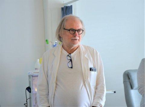 Uoversiktlig: - Vi har stått i en svært presset situasjon de siste ukene, sier kommuneoverlege Per Einar Jahr.