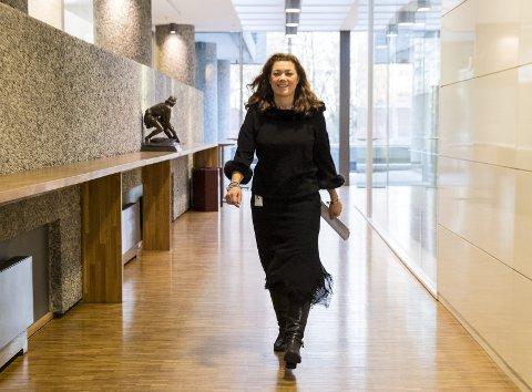 Konferanse: Tirsdag arrangeres NHOs årskonferanse, «Verdien av arbeid». NHO-direktør Kristin Skogen Lund har regien. FOTO: VIDAR RUUD / NTB scanpix
