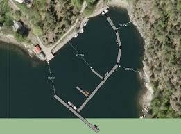 Slik er flytebryggene i den nye gjestehavna presentert i planene fra Oslo kommune.