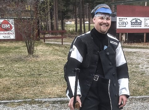 GRUNN TIL Å SMILE: Thomas Baars seier i Lapuacupens hjemmebaneskyting vekker oppmerksomhet.