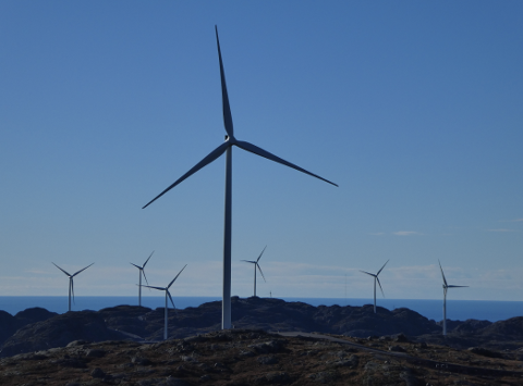 TELLLENES: Tellene er eid av utenlandske investorer. Nå åpnes det for at Statens pensjonsfond kan investere i vindkraft og annen infrastruktur for fornybar energi