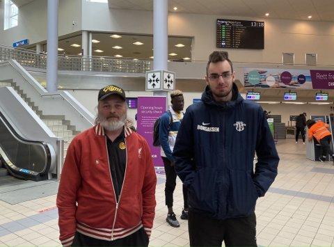 Bjørn Eide og Eirik Kildal Bonsaksen så Victor Boniface og resten av Glimt forlate Bodø i retning Milano.